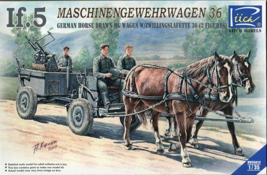 Riich Models IF.5 Maschinengwehrwagen 36. makett