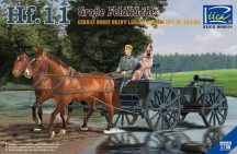 Riich Models German Horses Drawn Large Field Kitchen Hf.11