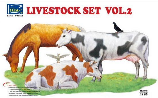 Riich Models Livestock Set Vol.2