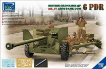 Riich Models Ordnance QF 6-Pdr. Mk.IV Late War Infantry Anti-tank Gun makett