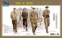 Riich Models WWII British Leader set (ROAD TO VICTORY)