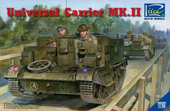 Riich Models Universal Carrier Mk.II with full interior makett