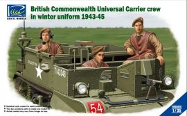 Riich Models British Commonwealth Universal Carrier Mk.II crew