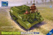 Riich Models Universal Carrier Wasp Mk.II with Crew makett