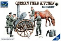 Riich Models German Field Kitchen with Soldiers