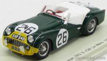 SPARK MODEL TRIUMPH TR3S SPIDER TEAM STANDARD TRIUMPH N 26 24h LE MANS 1959 P.BOLTON M.ROTSCHILD