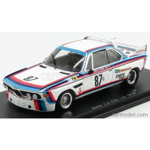 SPARK MODEL BMW 3.0 CSL N 87 24h LE MANS 1974 M.FINOTTO - C.FACETTI - M-MOHR