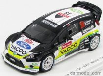 SPARK MODEL FORD FIESTA RS WRC N 38 th RALLY MONTECARLO 2012 J.MAURIN O.URAL