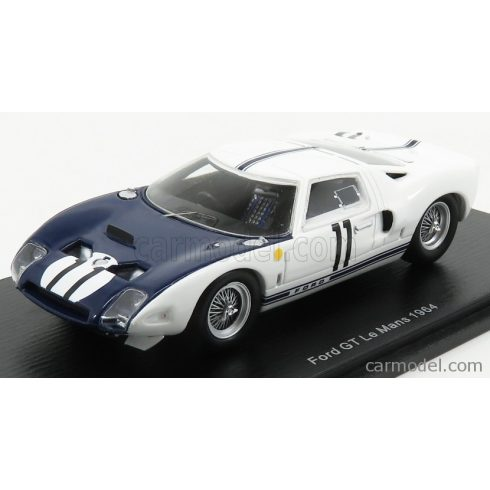 SPARK-MODEL FORD GT40 N 11 24h LE MANS 1964 R.GINTHER - M.GREGORY