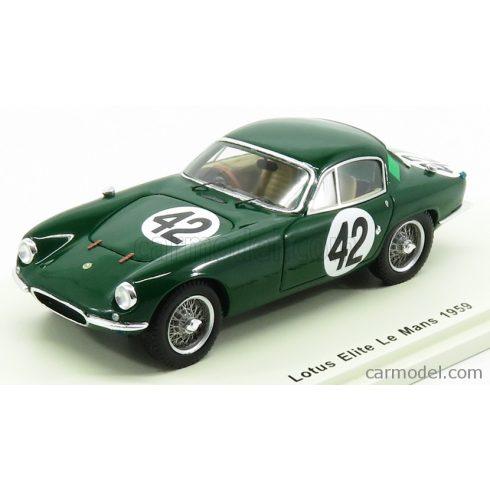 SPARK-MODEL LOTUS ELITE TEAM BORDER REIVERS N 42 24h LE MANS 1959 J.WHITMORE - J.CLARK