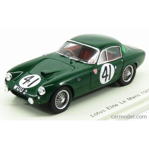 SPARK-MODEL LOTUS ELITE TEAM W.S. FROST N 41 24h LE MANS 1959 P.LUMSDEN - P.RILEY