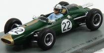 SPARK MODEL BRABHAM F1 BT3 N 22 ITALIAN GP 1963 J.BRABHAM