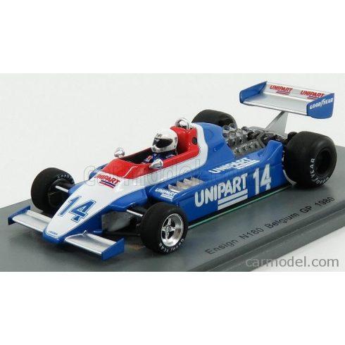 SPARK-MODEL ENSIGN F1 N 177 N 14 BELGIUM GP 1980 T.NEEDELL