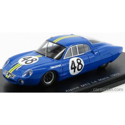 SPARK-MODEL Renault ALPINE M63 N 48 24h LE MANS 1963 J.ROSINSKI - B.HEINS
