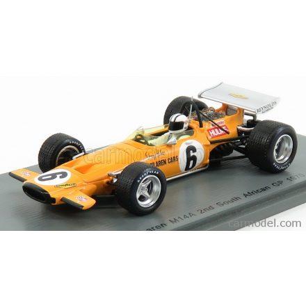 SPARK-MODEL McLAREN F1 M14A N 6 SOUTH AFRICA GP 1970 D.HULME