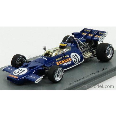 SPARK-MODEL McLAREN F1 M19A N 31 USA GP 1971 D.HOBBS