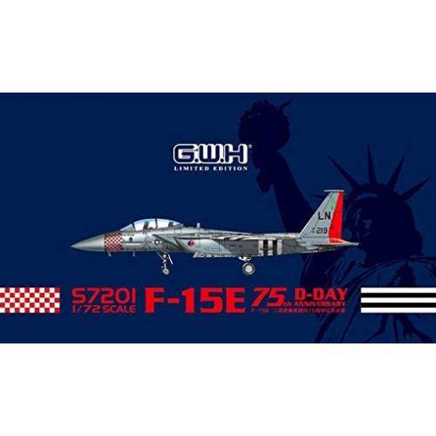 Great Wall Hobby F-15E Eagle 75th Anniversary of D-Day makett