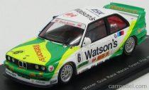 SPARK MODEL BMW 3 SERIES M3 TEAM WATSON'S N 6 WINNER GUIA RACE MACAU GRAN PRIX 1991 EMANUELE PIRRO