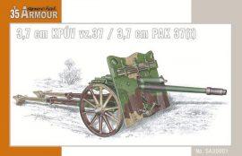 Special Armour 3,7 cm PAK 37(t)