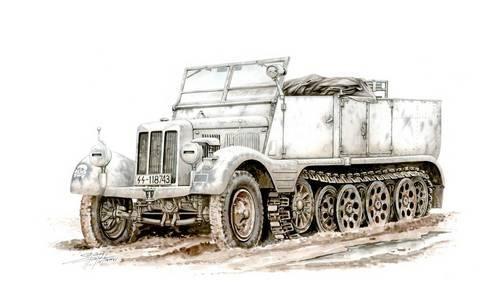 Special Hobby Sd.Kfz. 11 Leichter Zugkraftwagen 3t makett