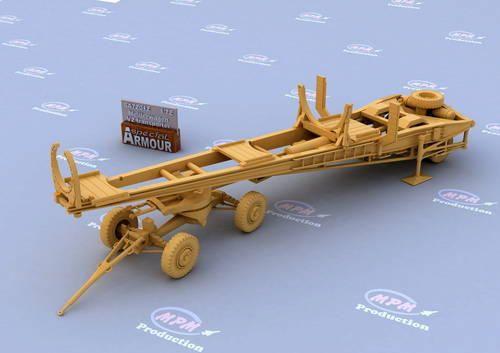 Special Hobby Meillerwagen V2 Transporter makett