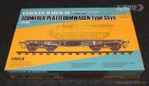 Sabre German Railway Schwerer Plattformwagen Type Ssys makett