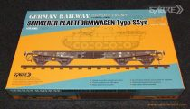 Sabre German Railway Schwerer Plattformwagen Type Ssys makett