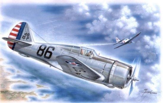Special Hobby P-36 Pearl Harbor Defender makett