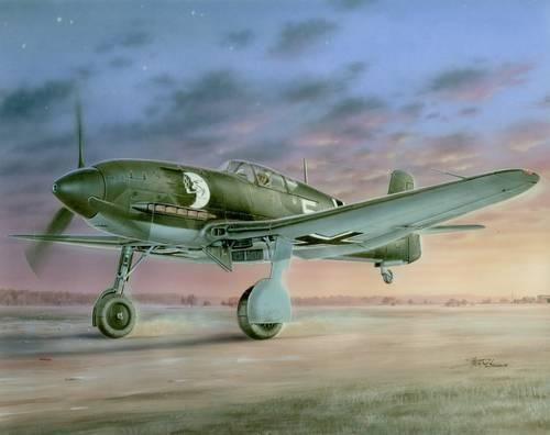 Special Hobby Heinkel He 100D-1 'Propaganda Jäger He 113' makett