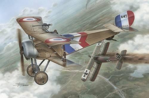 Special Hobby Nieuport Nie-11 Bebe makett