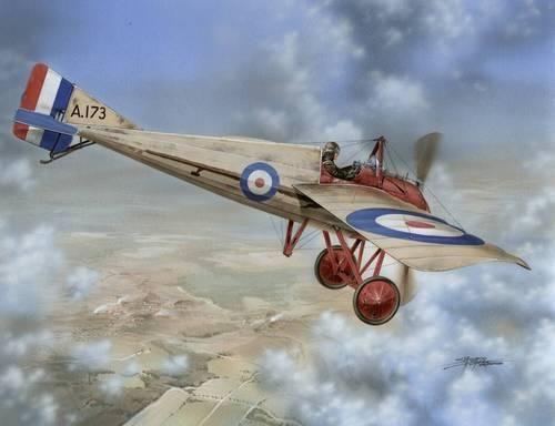 Special Hobby Morane-Saulnier Type N RFC Service makett