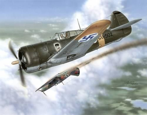 Special Hobby H-75 Hawk ''Sussu over Finland'' makett