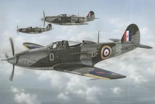 Special Hobby Airacobra Mk. I/P-39F In RAF and RAAF Service makett