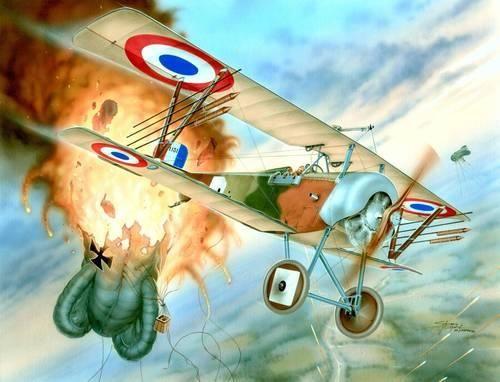 Special Hobby Nieuport Nie 16 Lafayette makett