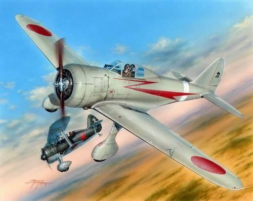 """Special Hobby Nakajima Ki-27Kó Nate """"Nomonhan Aces"""" makett"""