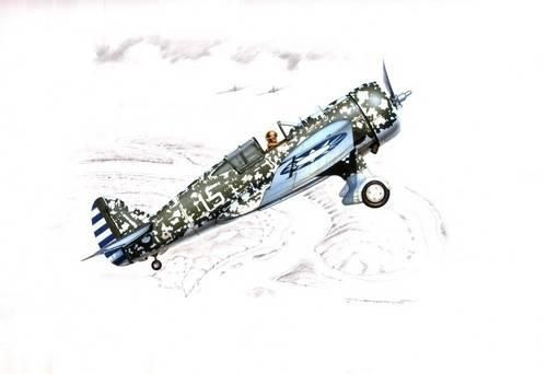 Special Hobby model H-75M/N/O Hawk makett