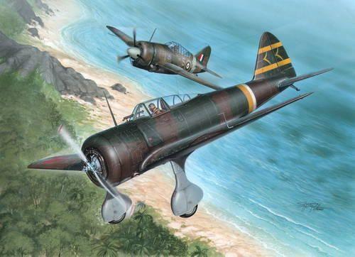 Special Hobby Ki-27 Otsu Nate Over Malaya & Philipp. makett