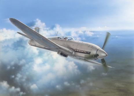 Special Hobby Heinkel He 100D Soviet and Japanese Plan makett