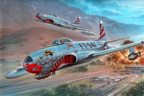 """Special Hobby F-80C """"over Korea"""""""