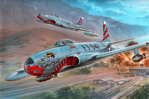 "Special Hobby F-80C ""over Korea"" makett"
