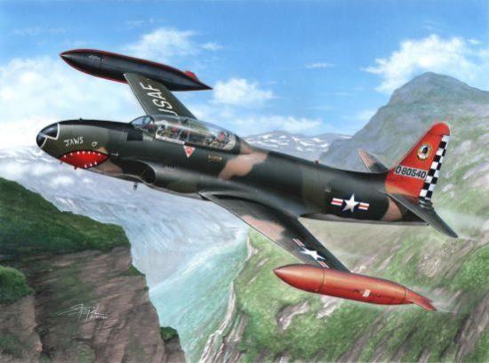 Special Hobby T-33A T-Bird Over Europe makett