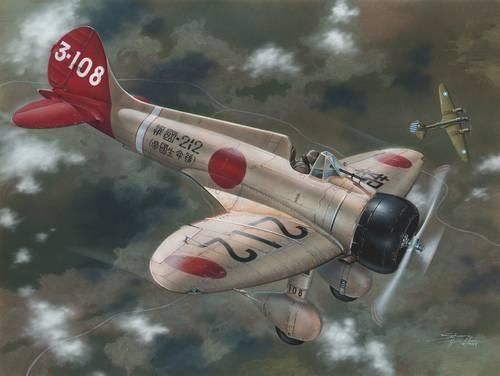 "Special Hobby A5M2b Claude ""Over China"" re-issue makett"
