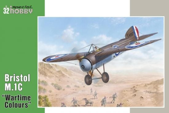 "Special Hobby Bristol M.1C""Wartime Colours"" makett"