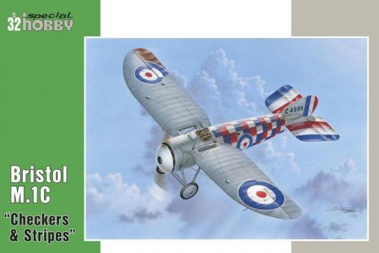 "Special Hobby Bristol M.1C""Checkers & Stripes"" makett"