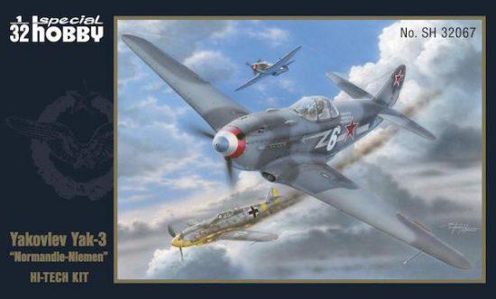 Special Hobby Yakovlev Yak-3 Normandie Niemen makett