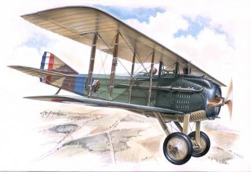 Special Hobby Spad VII C1 RFC und US Air Service makett