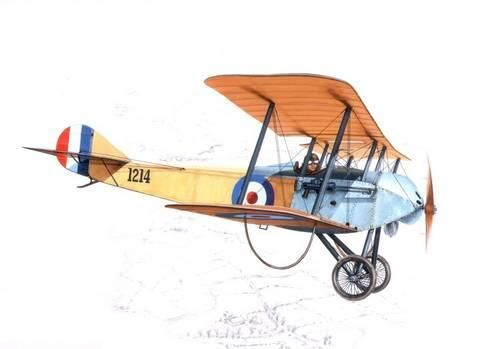 Special Hobby Sopwith Tabloid British WW I Scout makett
