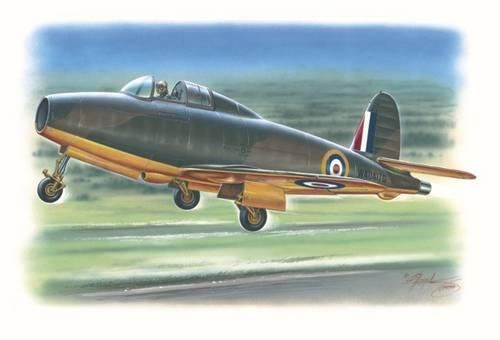 Special Hobby Gloster E.28/39 Pioneer (Squirt) makett
