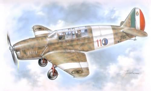 Special Hobby Nardi F.N. 305 Italienisches Trainerflugzeug makett