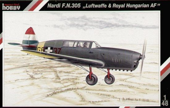 Special Hobby Nardi F.N.305 Hungarian Air Force makett